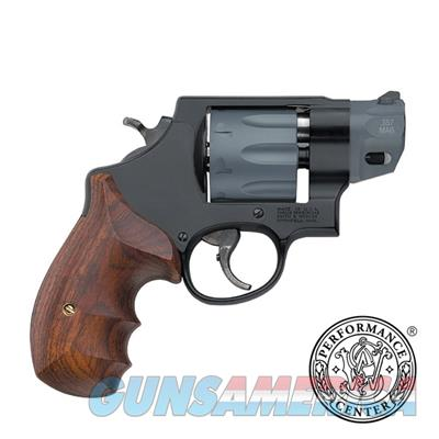 "Smith & Wesson, S&W 327 Performance Center 357 Mag 2"" 8rd Wood Grip Black Finish 170245 022188702453  Guns > Pistols > Smith & Wesson Revolvers > Small Frame ( J )"