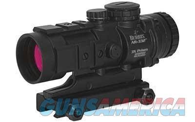 Burris AR-332 3x Magnified Prism Sight Ballistic CQ Reticle 300208 000381302083  Non-Guns > Scopes/Mounts/Rings & Optics > Tactical Scopes > Red Dot