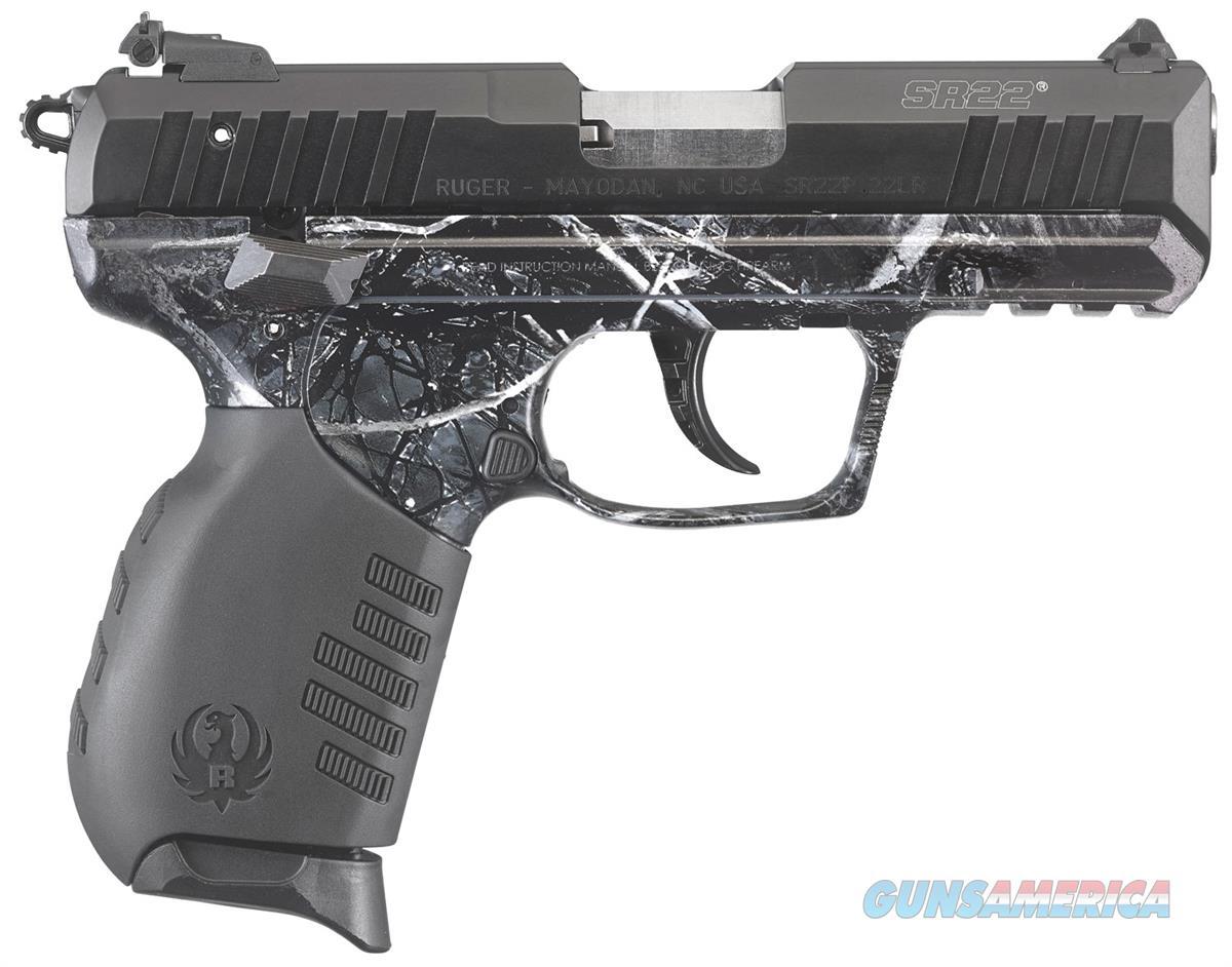 Ruger SR22 Black Harvest Moon 22LR 3.5 Barrel 10 Rds 03637  736676036370  Guns > Pistols > Ruger Semi-Auto Pistols > SR Family > SR22