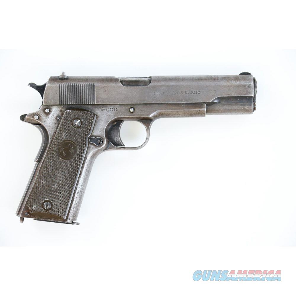 Pre-Owned 1918 WW1 Colt 1911 .45acp With Factory Letter - cons327712  Guns > Pistols > Colt Automatic Pistols (1911 & Var)