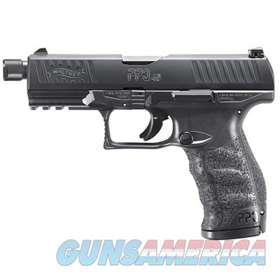 """Walther PPQ SD M2 Striker Fired Full Size 45 ACP 4.9"""" Barrel Polymer Frame Black Finish Fixed Sights 12Rd 2 Magazines -2829231  723364212543  Guns > Pistols > Walther Pistols > Post WWII > P99/PPQ"""