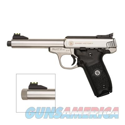 "Smith and Wesson SW22 Victory .22 LR 5.5"" Pistol with Threaded Barrel 10201  Guns > Pistols > Smith & Wesson Pistols - Autos > .22 Autos"