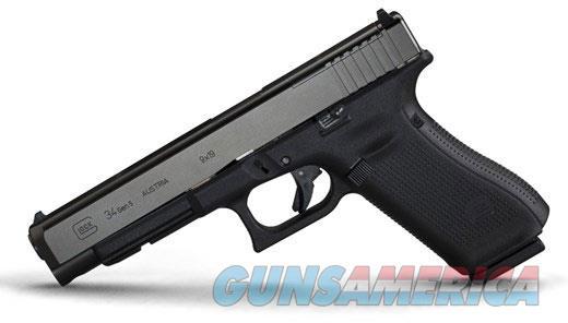 Glock 34 Gen 5 9MM 17RD G34 MOS PA3430103MOS 764503026782  Guns > Pistols > Glock Pistols > 34