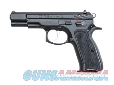 """CZ-USA 91102 CZ 75B 9mm 4.6"""" 16+1 DA/SA Pistol 91102 806703911021  Guns > Pistols > CZ Pistols"""