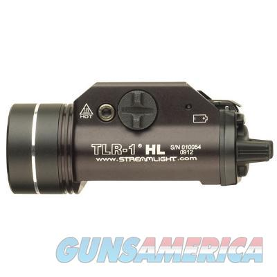 Streamlight TLR-1 HL Weaponlight LED 800 LUMEN with 2 CR123A Batteries Fits Picatinny or Glock-Style Rails Aluminum Matte 69260 080926692602  Non-Guns > Lights > Tactical