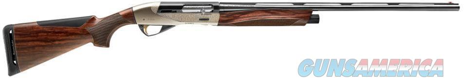 "Benelli Ethos 28GA 26"" Semi-Auto - Engraved Nickel - 10480   650350104806  Guns > Shotguns > Benelli Shotguns > Sporting"