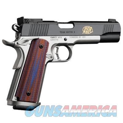 Kimber America Team Match II (2013) .45 ACP 1911 Handgun 3200285 669278322858 Guns > Pistols >  Kimber of America Pistols > 1911