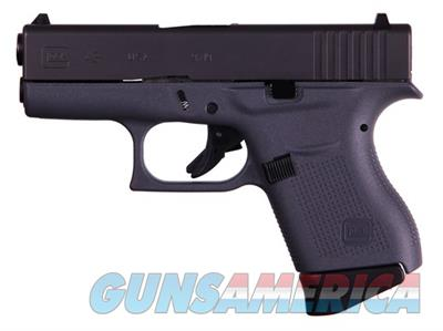 "Glock 43 G43 9mm 6+1 3.39"" Pistol with Gray Frame UI4350201GF  Guns > Pistols > Glock Pistols > 43"