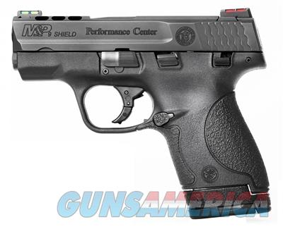 Smith & Wesson M&P9 Shield Performance Center Ported 9mm Pistol  Guns > Pistols > Smith & Wesson Pistols - Autos > Shield