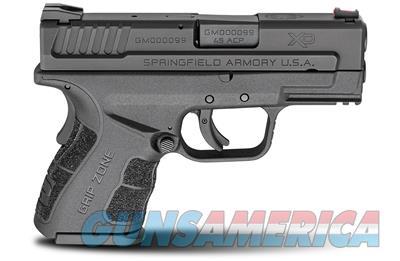"Springfield Armory XDG9845BHC XD45 Mod.2 .45 ACP 3.3"" 9+1, 13+1 SubCompact Pistol Essentials Kit  706397899790  Guns > Pistols > Springfield Armory Pistols > XD (eXtreme Duty)"