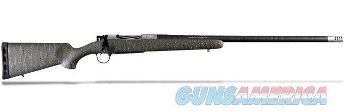 CHRISTENSEN ARMS RIDGELINE .300 WIN MAG GREEN W/ BLACK AND TAN WEBBING RIFLE CA10299-215413  Guns > Rifles > C Misc Rifles