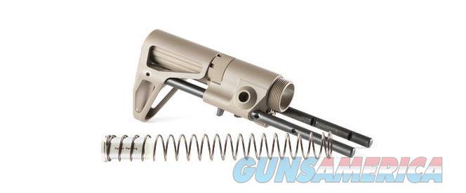 Maxim Defense CQB Stock, Buffer & Spring, Standard Buffer, No Proprietary Bolt Carrier Required, Extended Cheek Weld, Flat Dark Earth Finish  8523976111   685239761115  Non-Guns > Gun Parts > Stocks > Polymer