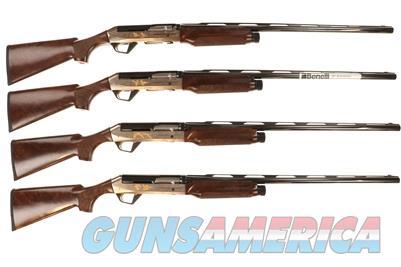 "Benelli Super Black Eagle II 25th Anniversary Flyway 12 Gauge 28"" Semi Auto Shotguns Complete Set of 4  10136-10137-10138-10139  Guns > Shotguns > Benelli Shotguns > Sporting"