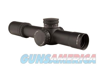 Trijicon AccuPower 1-8x28 Riflescope with MIL Segmented-Circle Crosshair with Green LED Reticle RS27-C-1900029 719307402454  Non-Guns > Scopes/Mounts/Rings & Optics > Rifle Scopes > Variable Focal Length