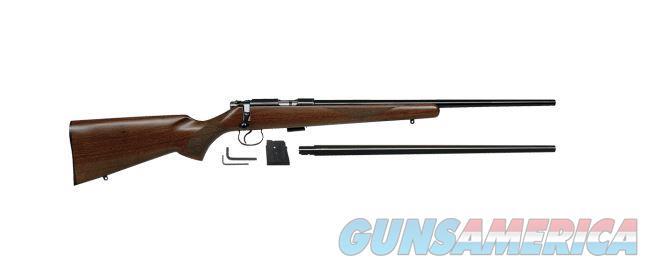 CZ 455 American Combo Cal. 22LR & 17HMR 5RD Mags  Guns > Rifles > CZ Rifles