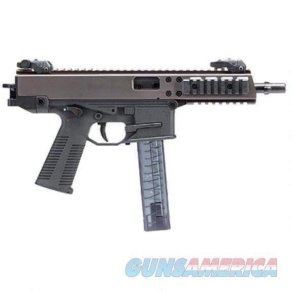 "BT-450002 B&T GHM9 Semi Auto Pistol 9mm Luger 6"" Barrel 30 Rounds Picatinny Optics Rail Low Profile Back Up Sights Ambidextrous Magazine Release/Safety Matte Black   Guns > Pistols > B Misc Pistols"