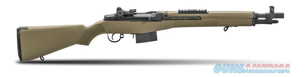 "Springfield Armory M1A SOCOM-16 .308 Win/7.62 Nato 16.25"" Semi-Auto Rifle with FDE Composite Stock AA9620  Guns > Rifles > Springfield Armory Rifles > M1A/M14"