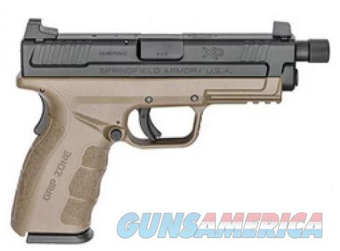 "Springfield Armory XD Mod.2 9mm 4"" Service Model Pistol with FDE Frame and Threaded Barrel  XDGT9101FDEHC  706397907136  Guns > Pistols > Springfield Armory Pistols > XD-Mod.2"