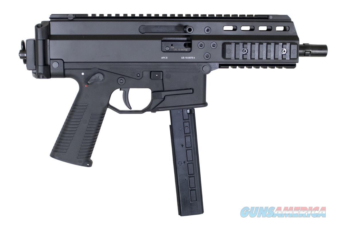 B&T APC9 9MM BLACK PISTOL - BT-36016  Guns > Pistols > B Misc Pistols