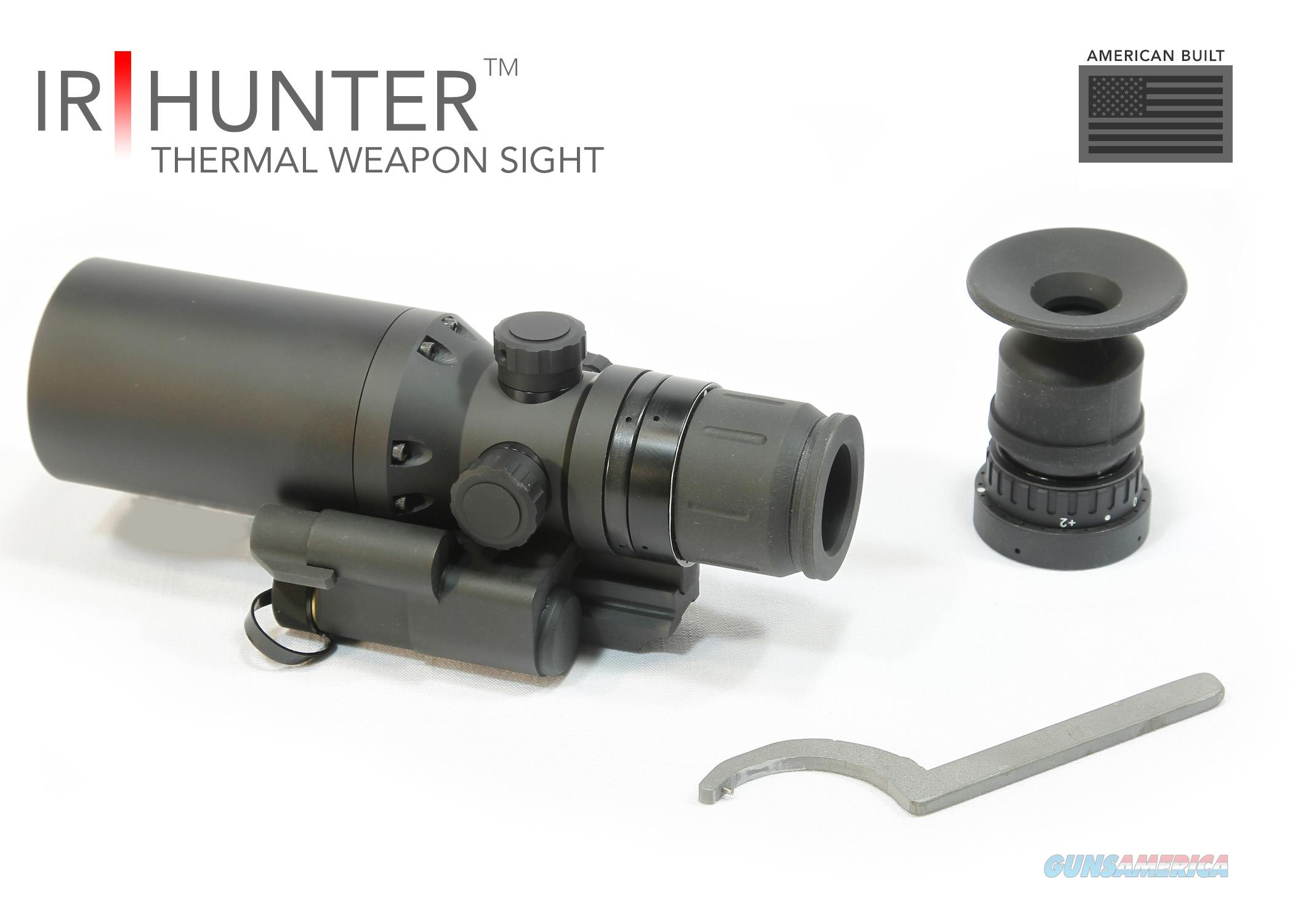 IR Defense Systems IR Hunter Mark II 640x480 Thermal Weapon Sight IRHM2-640-35 out performs ATN Thor Thor336 ARMASIGHT FLIR  Non-Guns > Night Vision