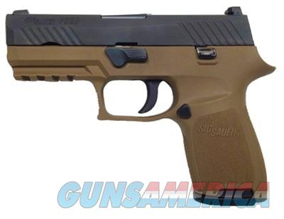 Sig Sauer P320 Compact 9mm FDE With Rail Comes with 2 15rd Magazines and Holster 320C-9-T-FDE 798681528387  Guns > Pistols > Smith & Wesson Pistols - Autos > Polymer Frame