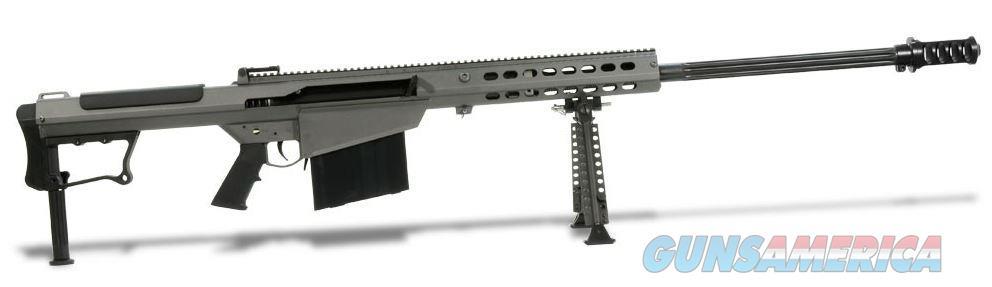 Barrett Firearms M107 A1 Rifle .50 BMG 29in Fluted 10rd Gray Suppressor Ready 14553  Guns > Rifles > Barrett Rifles