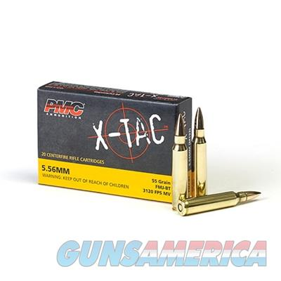 PMC X-TAC 5.56x45mm NATO 55 Grain FMJ 1000 round case 5.56X 741569010115  Non-Guns > Ammunition