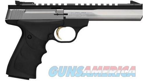 BROWNING 051507490 BUCK MARK CONTOUR STAINLESS ULTRAGRIP RX AMBIDEXTROUS .22 LR 5.5-INCH 10RD    Guns > Pistols > Browning Pistols > Other Autos