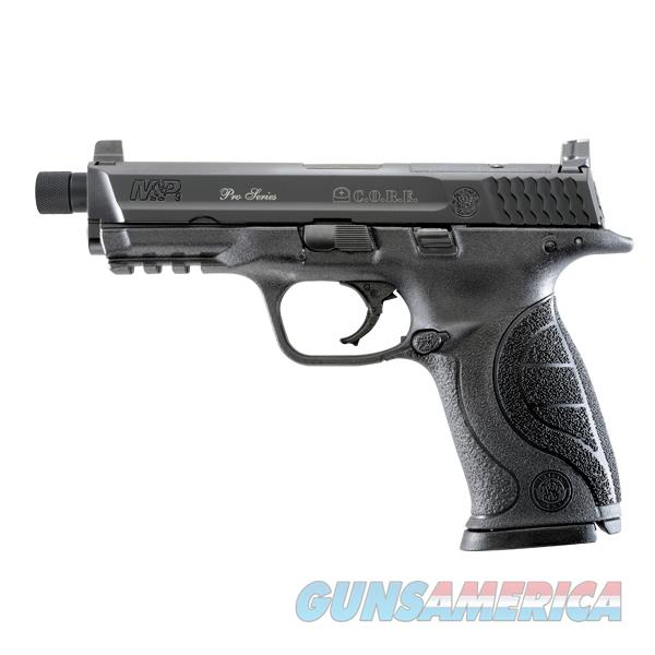 S&W Smith and Wesson M&P9 C.O.R.E. 9mm 17+1 Pistol with Threaded Barrel 10268 022188868043  Guns > Pistols > Smith & Wesson Pistols - Autos > Polymer Frame