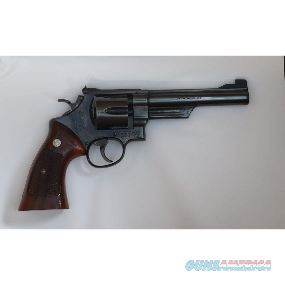 Pre-owned S&W 25-2 1955 model 45 ACP 6 inch Pinned Barrel - USEDN758941  Guns > Pistols > Smith & Wesson Revolvers > Full Frame Revolver