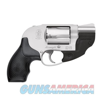 Smith and Wesson Model 638 LaserMax .38 Special +P J Frame Revolver with Laser 10241 022188867282  Guns > Pistols > Smith & Wesson Revolvers > Small Frame ( J )