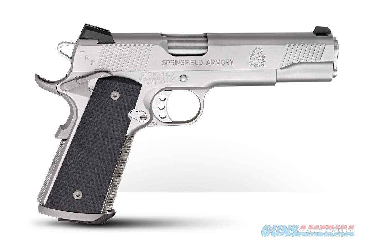 PC9107L18 SPRINGFIELD TRP OPERATOR STAINLESS .45 ACP 5-INCH 7RDS  Guns > Pistols > Springfield Armory Pistols > 1911 Type