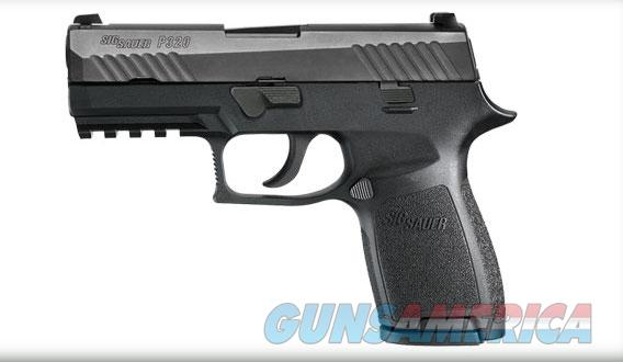 Sig Sauer P320 Carry 9mm With Rail Comes with 2 15rd Magazines and Holster 320C-9-BSS  Guns > Pistols > Sig - Sauer/Sigarms Pistols > P320