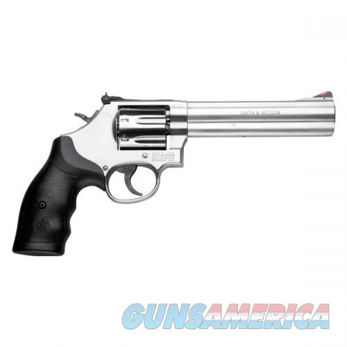 Smith & Wesson 164198 686 Plus Revolver .357 Mag 6in 7rd Stainless  Guns > Pistols > Smith & Wesson Revolvers > Med. Frame ( K/L )