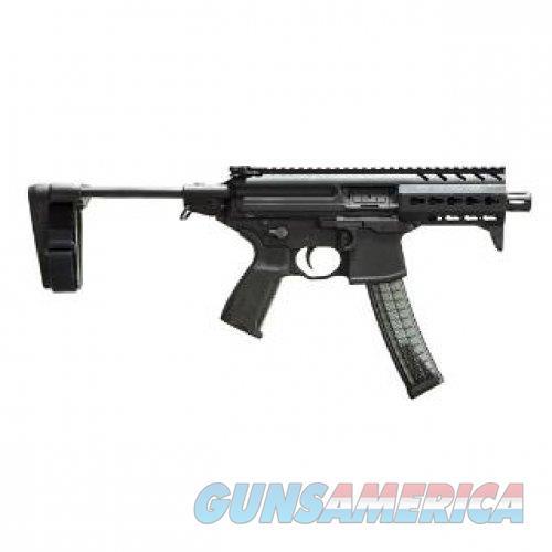 "Sig Sauer MPX 9mm 4.5"" PDW Stabilizing Brace Pistol - MPX-K-9-KM-PSB   798681563487  Guns > Pistols > Sig - Sauer/Sigarms Pistols > Other"