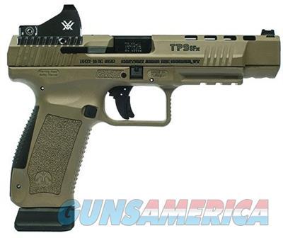 "Century Arms TP9SFx Canik Pistol , 9mm Luger, 5.2"", FDE Polymer Grips, FDE Finish, 20 Rd HG3774DV-N  Guns > Pistols > Century International Arms - Pistols > Pistols"