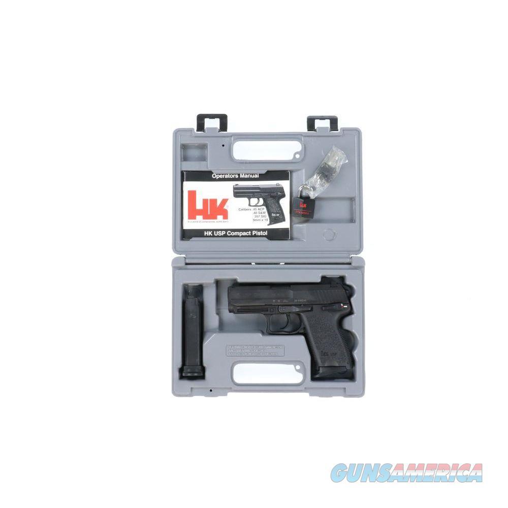 Pre-Owned HK usp compact V1 .45 - USED29-009245  Guns > Pistols > Heckler & Koch Pistols > Polymer Frame