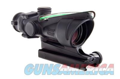 Trijicon ACOG 4x32 Dual Illuminated Green Chevron .223 Ballistic Reticle with TA51 Flattop Mount 100218 719307302945  Non-Guns > Scopes/Mounts/Rings & Optics > Tactical Scopes > Other Head-Up Optics