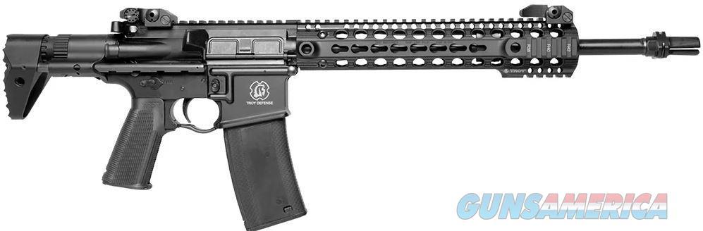 "Troy SCAR7CR14BT M7A1 Carbine SA 223/5.56 14"" 30+1 Troy PDW Collapsible Black SCAR7CR14BT  812699019405  Guns > Rifles > Troy Defense > Troy Defense Rifles"