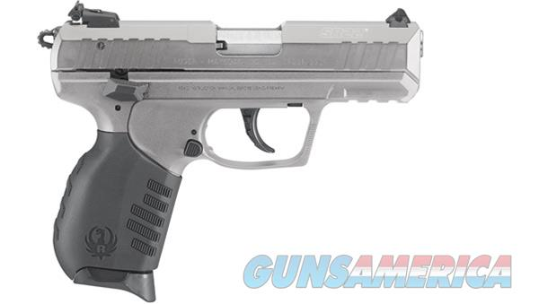 "RUGER 3630 SR22 STANDARD SINGLE/DOUBLE 22 LONG RIFLE (LR) 3.5"" 10+1 BLACK RUBBER GRIP STAINLESS CERAKOTE ALUMINUM  Guns > Pistols > Ruger Semi-Auto Pistols > SR Family > SR22"