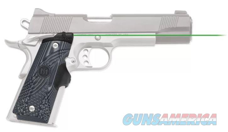 Crimson Trace Master Series Lasergrips 1911 Full Size (Green) LG-904G  Non-Guns > Gun Parts > Grips > 1911