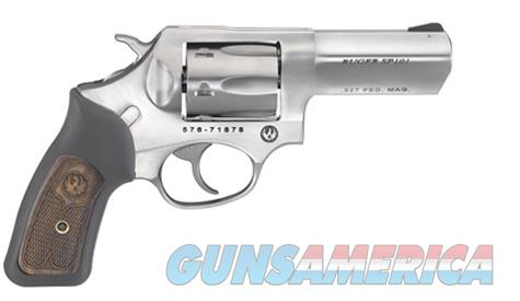 Ruger SP101 .327 Fed. Mag. Stainless Revolver - 05784  Guns > Pistols > Ruger Double Action Revolver > SP101 Type