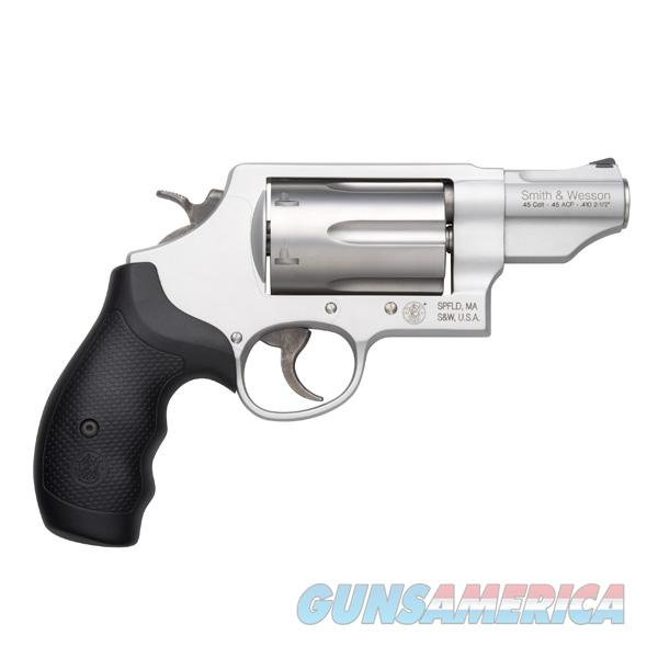 S&W Governor .410/.45 Colt/.45 ACP Revolver Silver Edition 160410  Guns > Pistols > Smith & Wesson Revolvers > Full Frame Revolver