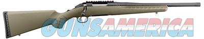 "Ruger American Ranch Rifle FDE 5.56 NATO 223 Rem with Threaded Barrel LOP 13.75""  Guns > Rifles > Ruger Rifles > American"