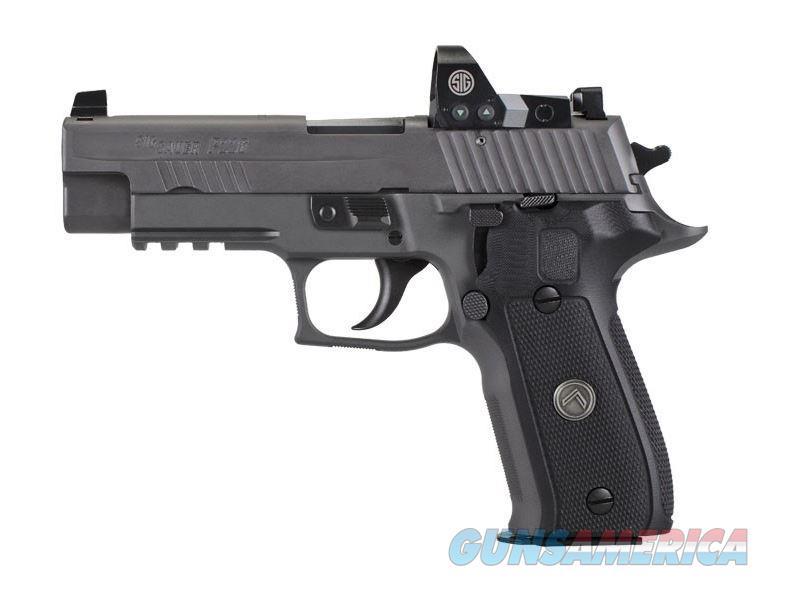 Sig Sauer P226 Full Size Legion SA/DA 9mm w/ Romeo1 E26R-9-LEGION-RX  798681579501  Guns > Pistols > Sig - Sauer/Sigarms Pistols > P226