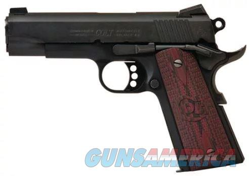 Colt Mfg O4842XE 1911 Lightweight Commander Single 9mm 4.25 9+1 Black G10 Grip Blued   O4842XE  098289111067  Guns > Pistols > Colt Automatic Pistols (1911 & Var)