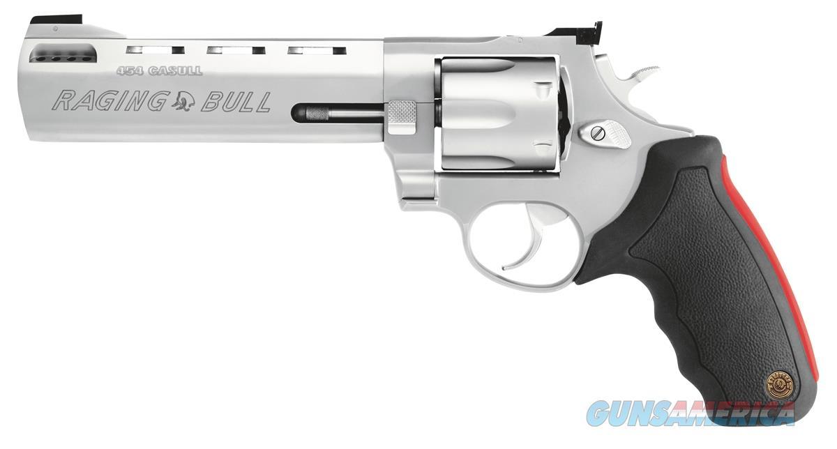 Taurus 454 Raging Bull - 454 Casull Revolver - 2-454069M  725327330035  Guns > Pistols > Taurus Pistols > Revolvers