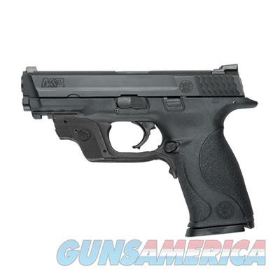 Smith and Wesson M&P9 9mm 17+1 Pistol with Crimson Trace Green Laserguard 10174 022188866247  Guns > Pistols > Smith & Wesson Pistols - Autos > Polymer Frame