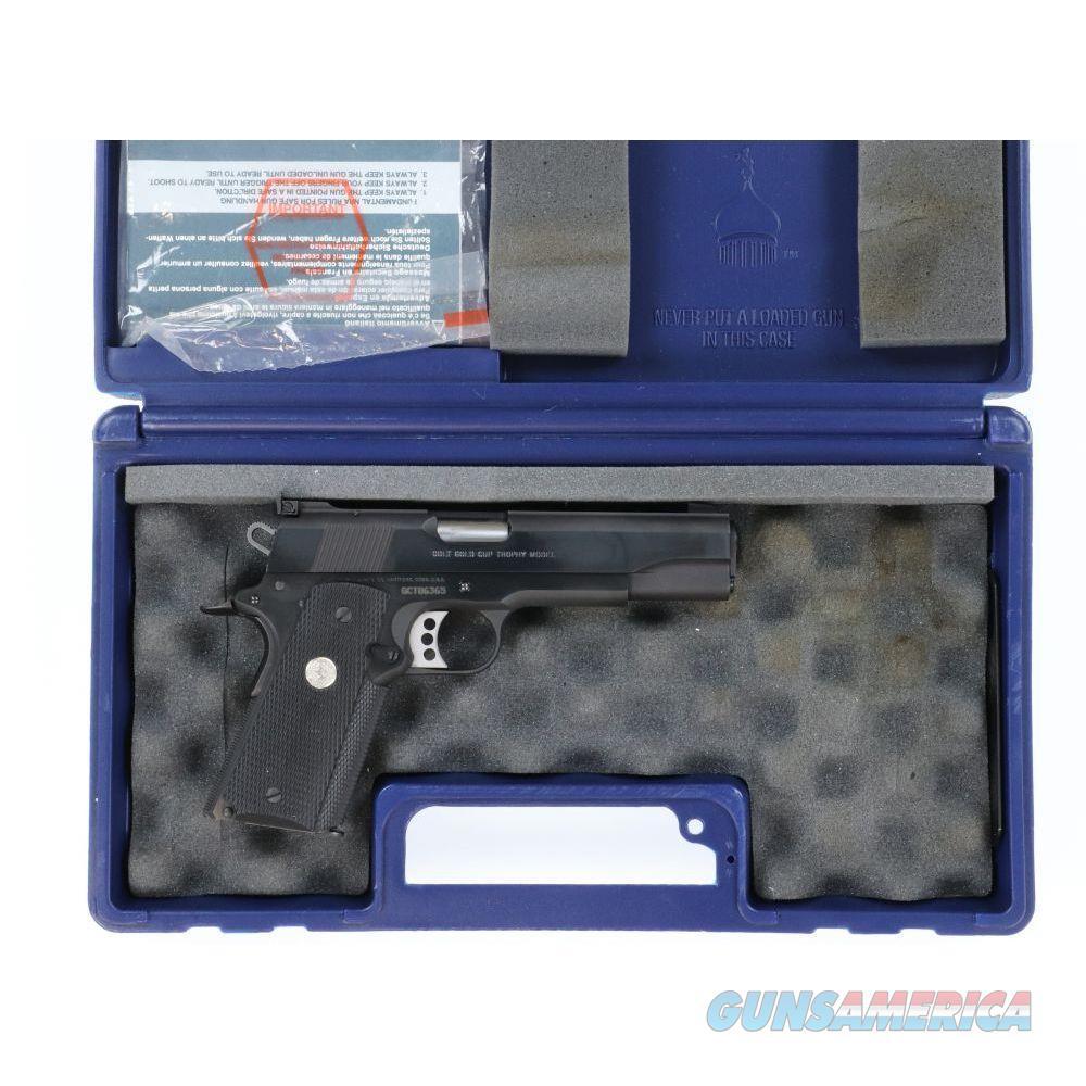 """Pre-Owned Colt Gold Cup Trophy .45 ACP 5"""" 1911 Pistol - USEDGCT06365  Guns > Pistols > Colt Automatic Pistols (1911 & Var)"""