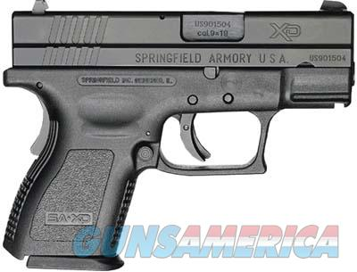 "Springfield Armory XD Sub Compact 3"" 9mm - XD9801HC 706397862275  Guns > Pistols > Springfield Armory Pistols > XD (eXtreme Duty)"
